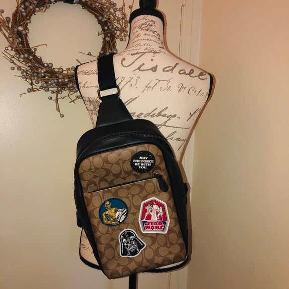 Coach Handbags - Star Wars X Coach Westway Pack In Signature Canvas